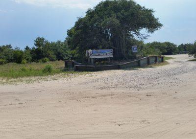 Carova Beach park and landing.