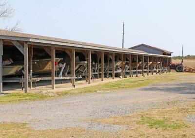 Boat barn